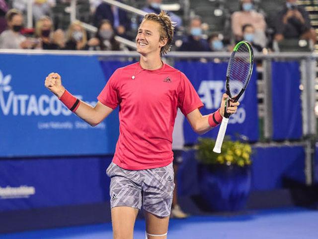 Cứu bóng thần sầu như Nadal, SAO 20 tuổi gây sốt giải tiền Australian Open