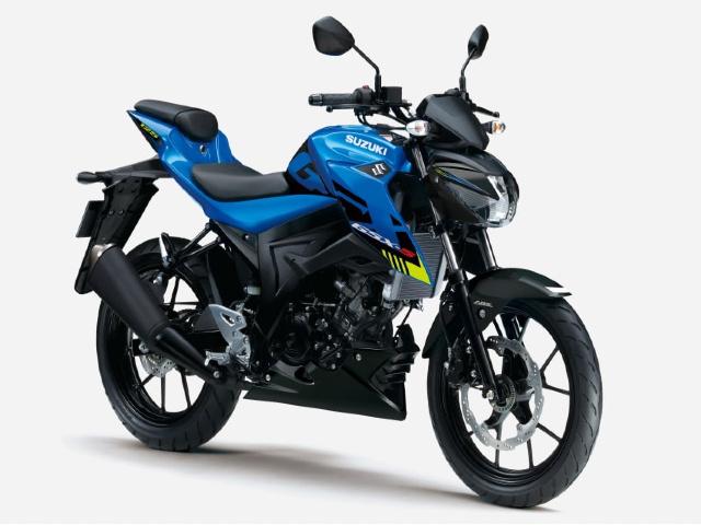 2021 Suzuki GSX-S125 cập nhật màu mới, giá chát 86 triệu đồng
