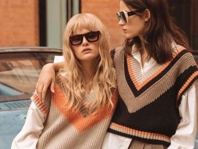 Điệu đà với 6 kiểu áo len khi trời hửng nắng