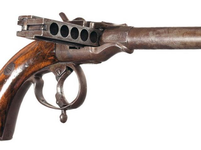 Khám phá khẩu súng quái dị bậc nhất thế kỷ 19