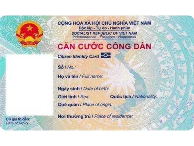 Bộ Công an thông tin chính thức về mẫu thẻ căn cước công dân gắn chip