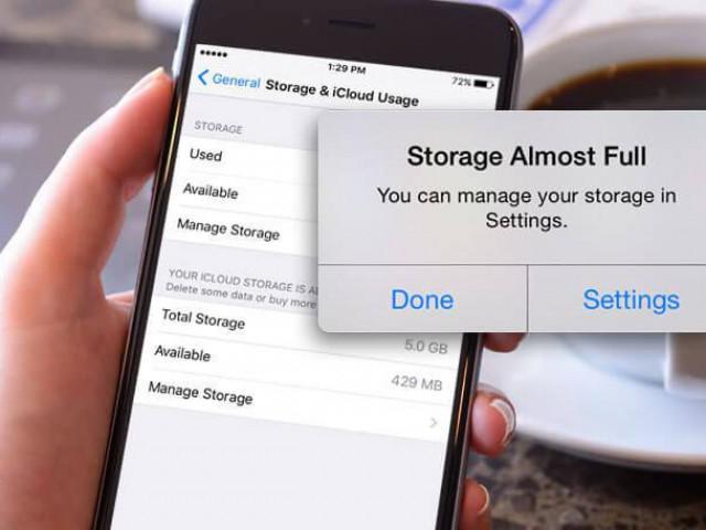 Cách giải phóng dung lượng trên iPhone không cần xóa dữ liệu