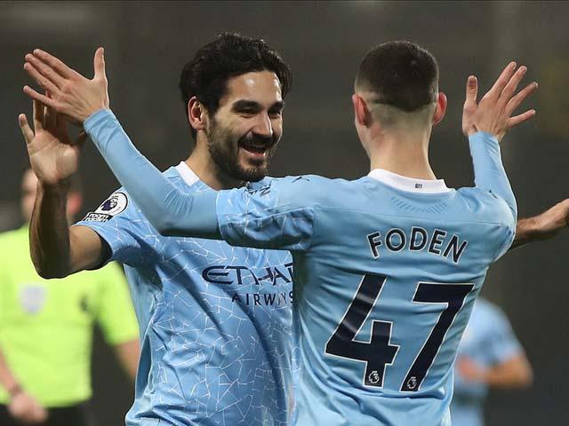 """Cực nóng bảng xếp hạng Ngoại hạng Anh: Man City """"lên đỉnh"""", hơn MU mấy điểm?"""