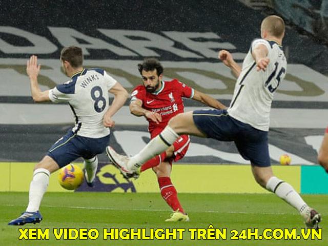 """Video Tottenham - Liverpool: Hiệp 2 bùng nổ, mãn nhãn """"mưa bàn thắng"""""""