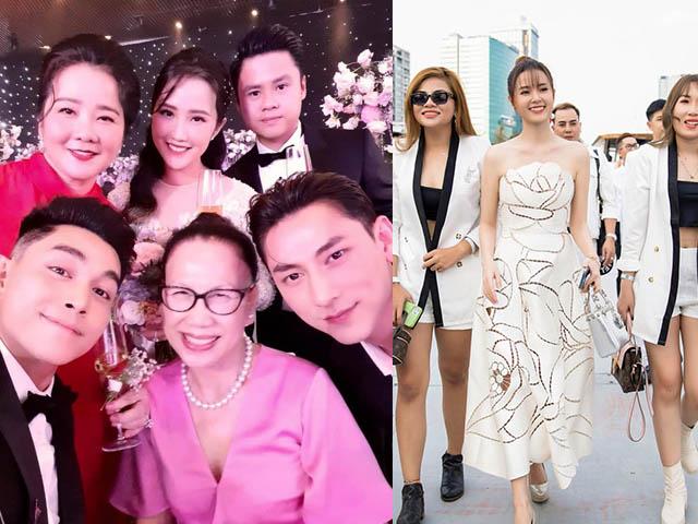 CEO Midu đãi tiệc kín trên du thuyền triệu đô giữa đám cưới trăm tỷ của tình cũ Phan Thành