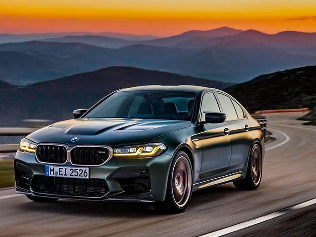 BMW trình làng mẫu xe M5 CS với hiệu suất động cơ vượt trội