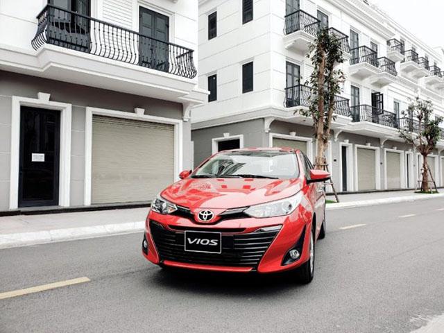 Giá xe Toyota Vios lăn bánh tháng 2/2021