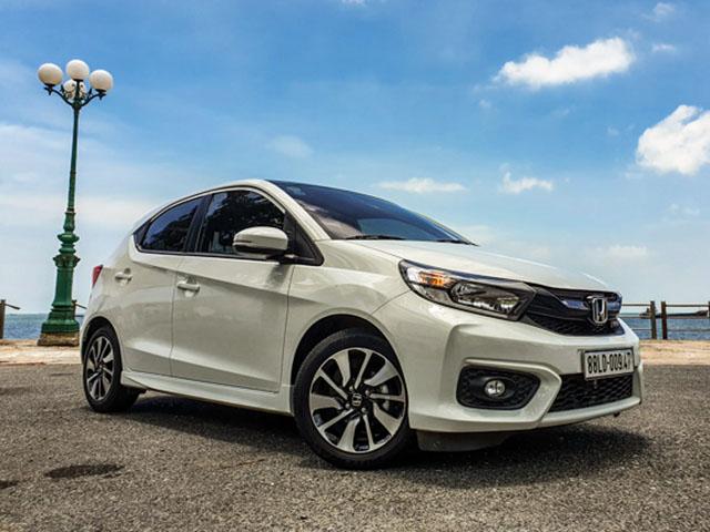 Honda Brio được mốt số đại lý giảm giá hút khách những ngày cận tết