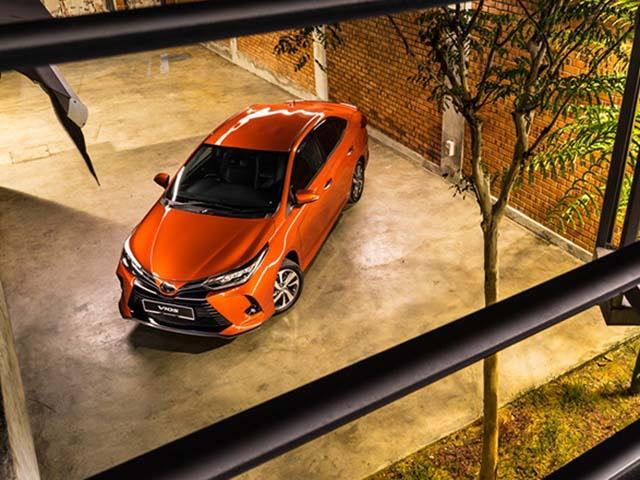 Các đại lý chính thức nhận cọc xe quốc dân Toyota Vios thế hệ mới