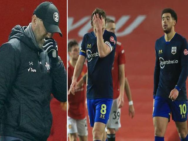 """MU đại thắng 9-0: HLV Southampton thừa nhận """"Quỷ Đỏ"""" mạnh nhất Ngoại hạng Anh"""