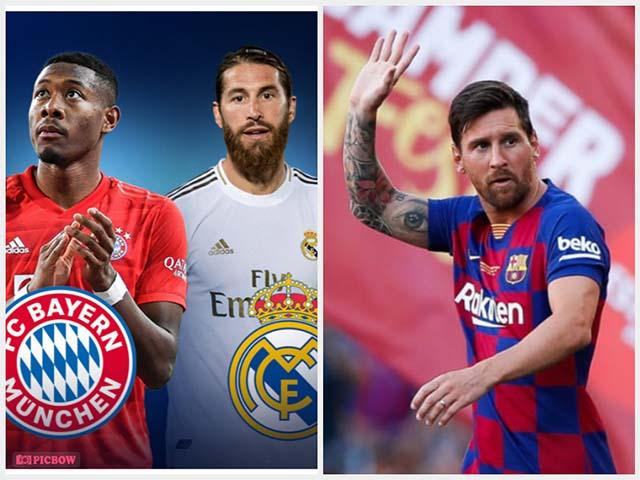 """Đội hình """"bom tấn"""" 0 đồng hè 2021: Messi - Ramos thống lĩnh, đủ sức vô địch C1"""