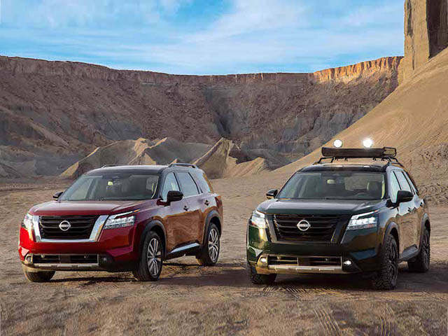 Nissan Pathfinder 2022 ra mắt giá từ 735 triệu đồng, đối trọng của Kia Sorento
