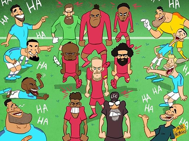 """Ảnh chế: Man City """"vùi dập"""" đương kim vô địch, fan hả hê chế giễu"""