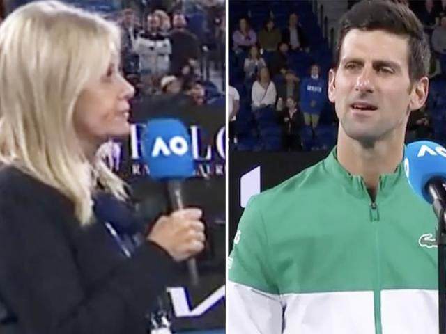 Australian Open nóng rực: Djokovic bị hỏi khó, Kyrgios gào lên đuổi người đẹp