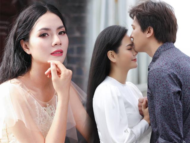 Sao Mai Lương Nguyệt Anh đóng cảnh tình cảm nồng nàn với trai đẹp đã có vợ