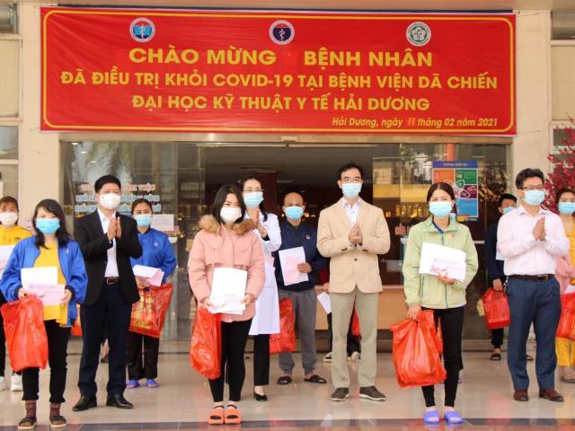 Ngày 30 Tết, 27 bệnh nhân COVID-19 tại Hải Dương được công bố khỏi bệnh