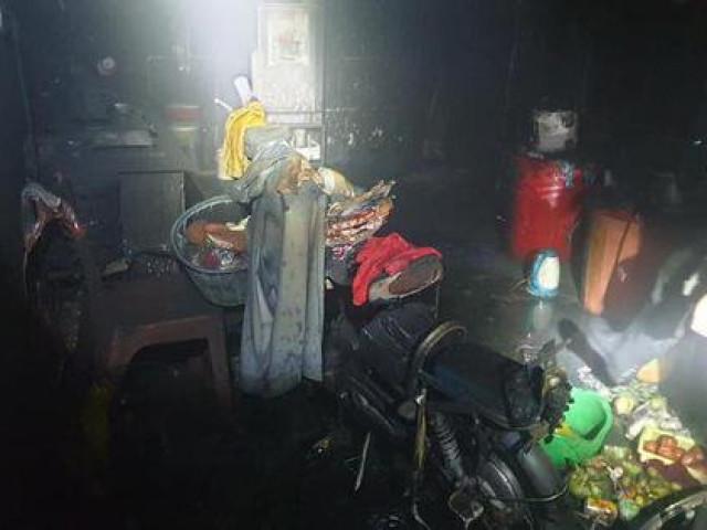 Cháy nhà ngày mùng 1 Tết, một trẻ em tử vong