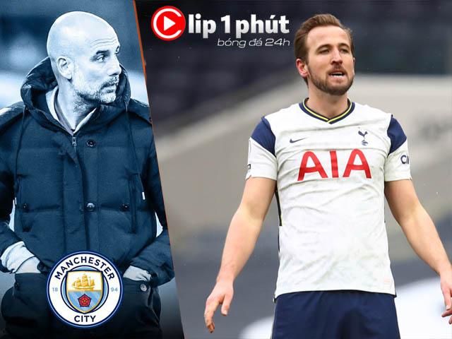 """Harry Kane liên tục tỏa sáng, Tottenham có giúp MU """"ngáng đường"""" Man City? (Clip 1 phút Bóng đá 24H)"""