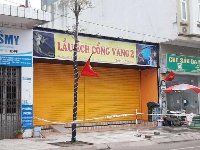 Quảng Ninh ra thông báo khẩn sau khi phát hiện nhân viên nhà hàng lẩu ếch nghi nhiễm COVID-19