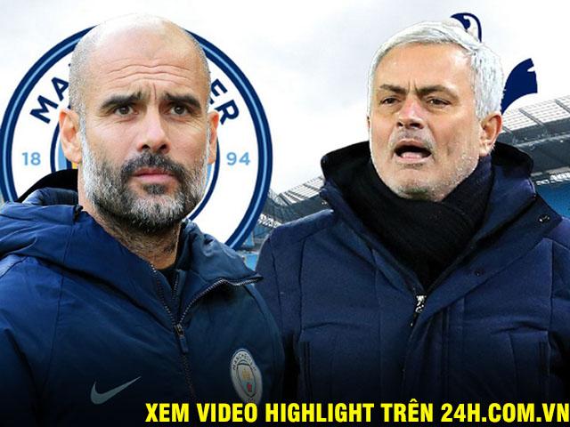 Nhận định bóng đá Man City - Tottenham: Chờ Mourinho ngăn Pep, giải cứu Ngoại hạng Anh