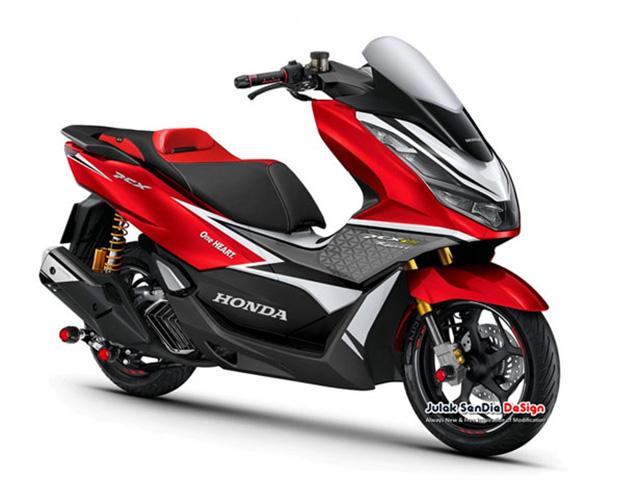 Honda PCX160 sẽ được bổ sung phiên bản Racing cực độc