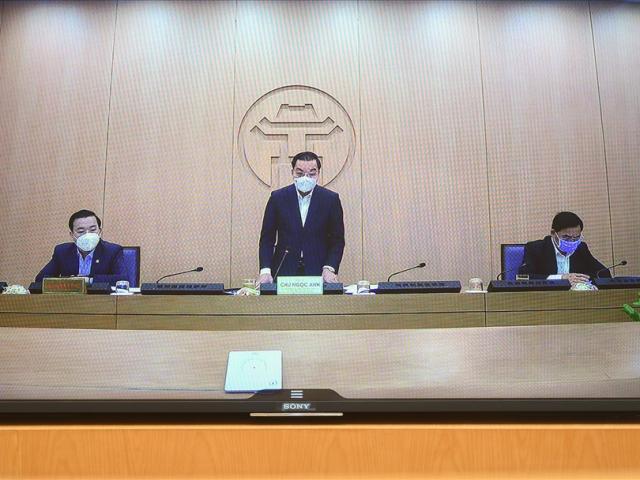 Chủ tịch TP.Hà Nội đề nghị khai báo y tế bắt buộc đối với người địa phương khác về Thủ đô