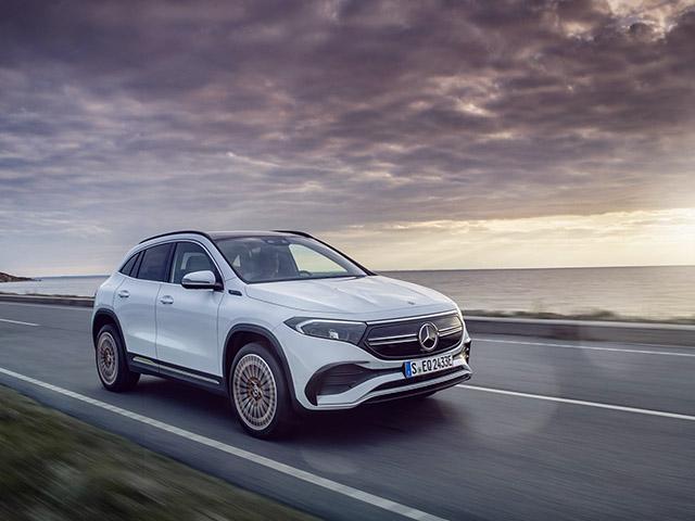 Mercedes-Benz EQA ra mắt tại châu Âu, có giá bán hơn 1 tỷ đồng