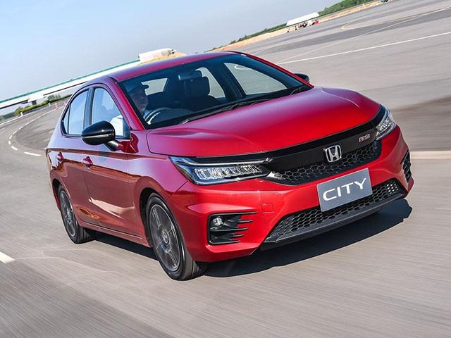 Giá xe Honda City lăn bánh tháng 2/2021