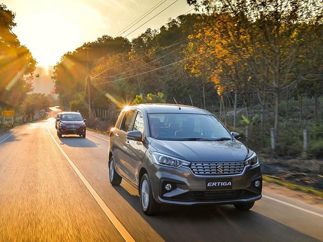 Giá xe Suzuki Ertiga lăn bánh tháng 2/2021