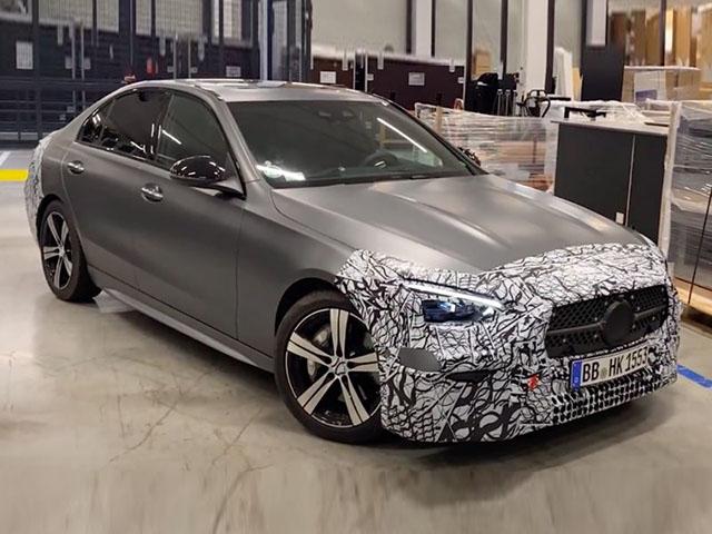 """Mercedes-Benz C-Class 2022 sẽ có khoang nội thất """"xịn"""" như S-Class"""