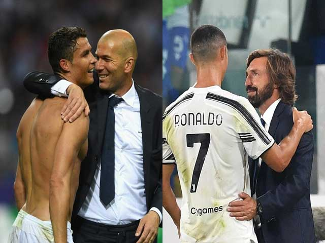 Juventus đe dọa HLV Pirlo: Ronaldo đá kém Cúp C1, Zidane sẽ cướp ghế?