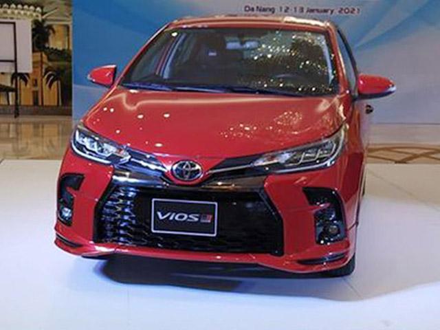 Lộ ảnh thực tế Toyota Vios 2021 sắp bán tại Việt Nam, có bản thể thao đấu Honda City RS