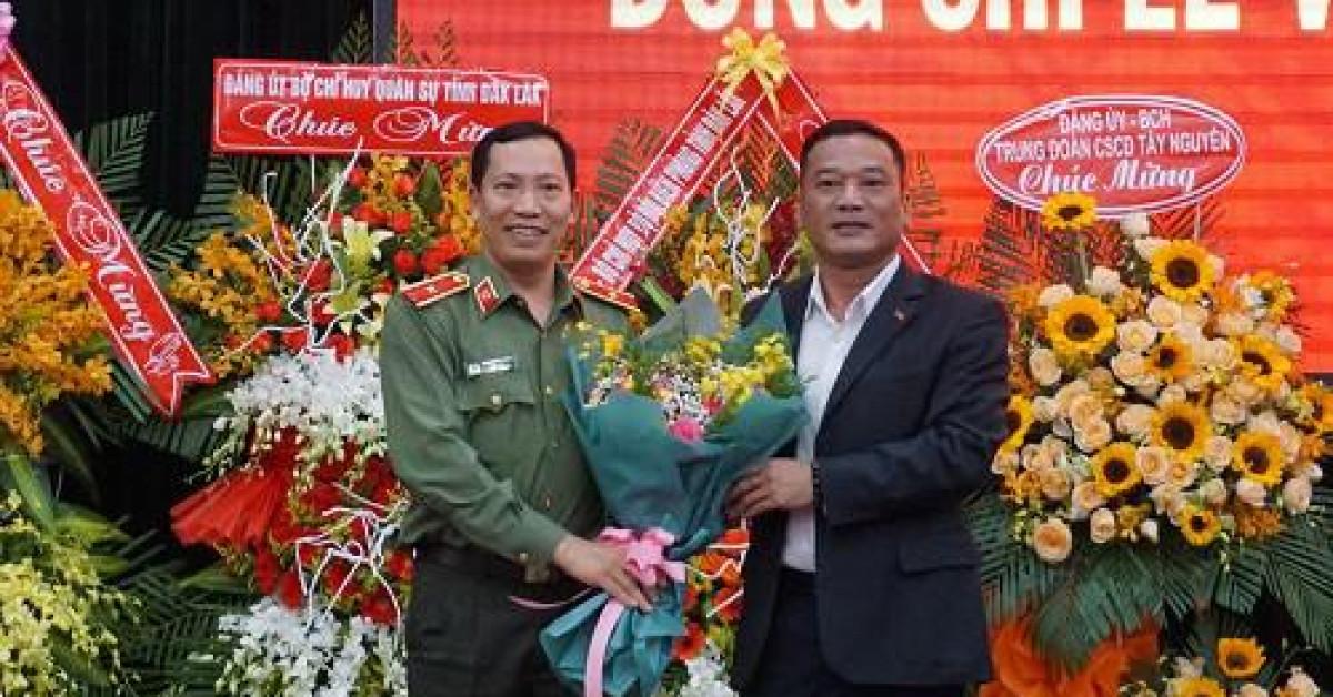Giám đốc công an Đắk Lắk được thăng hàm thiếu tướng