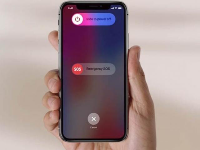 Cách tắt nguồn iPhone X đơn giản thực hiện trong giây lát