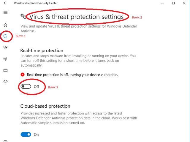 Cách tắt Windows Defender trên Window 10 nhanh dễ thực hiện