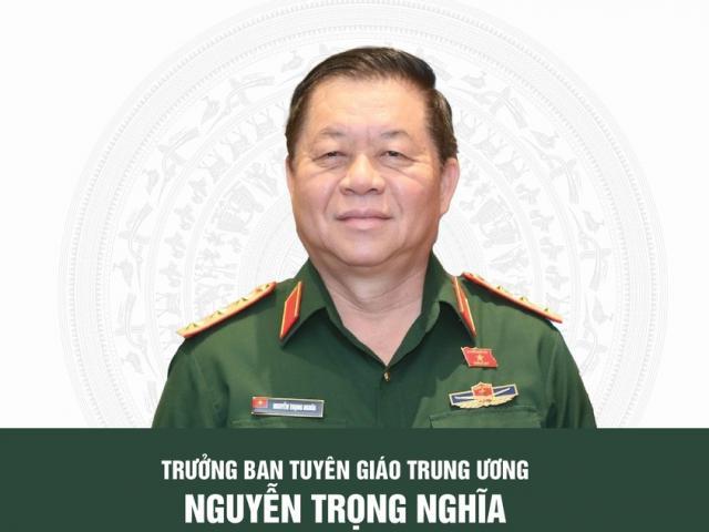 Chân dung tân Trưởng ban Tuyên giáo Trung ương Nguyễn Trọng Nghĩa