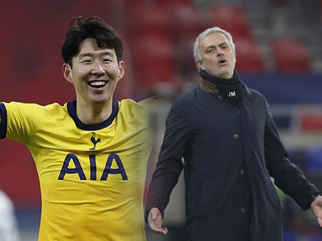 Son Heung Min tỏa sáng bị thay ra sau 45 phút: Mourinho giải thích thế nào?
