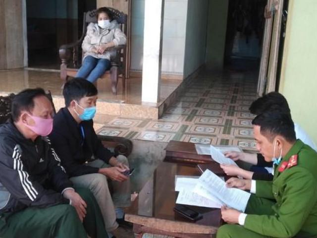 Từ Hải Dương về quê ăn Tết, nữ công nhân khai báo gian dối để trốn cách ly