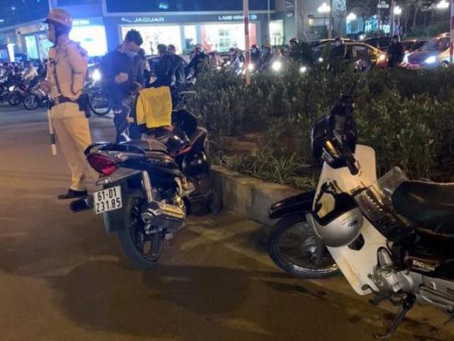 Người đàn ông bị đâm gục sau va chạm giao thông tại Hà Nội