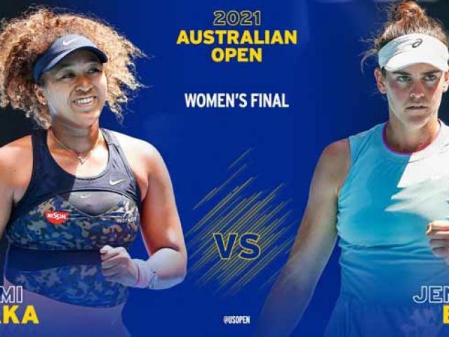 Áp đảo khó ngờ, ngôi hậu xứng đáng (Chung kết Australian Open)