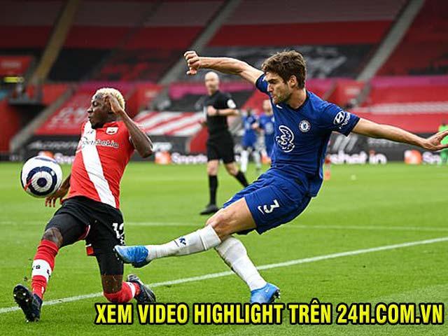 Video Southampton - Chelsea: Phản đòn mãn nhãn, penalty cứu giá