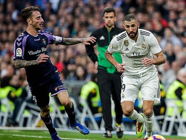 Trực tiếp bóng đá Valladolid - Real Madrid: Đi săn mồi ngon, áp sát Atletico
