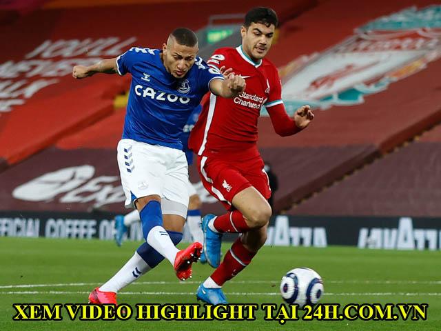 Video Liverpool - Everton: Đòn phủ đầu choáng váng, kết liễu với quả penalty