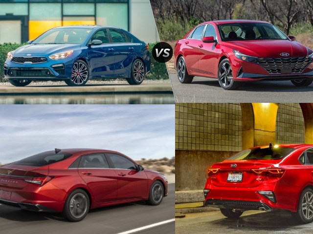 Thích sedan cỡ nhỏ, chọn 2021 Hyundai Elantra hay Kia Forte?