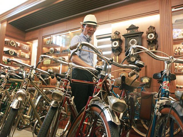 Bộ sưu tập xe đạp Peugeot nhiều nhất thế giới của đại gia Hà thành