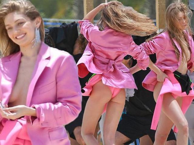 """Chị em nhà hào môn hot nhất nhì Hollywood thích mặc """"thả vòng 1 tự nhiên"""" ra phố"""