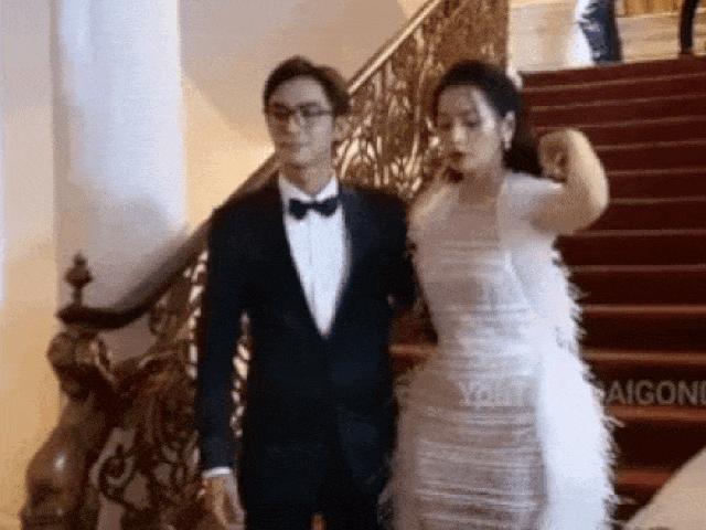 """Hoa hậu Đỗ Thị Hà, Chi Pu... bị """"dòm ngó"""" vòng 1, đụng chạm cơ thể và phản ứng trái ngược"""