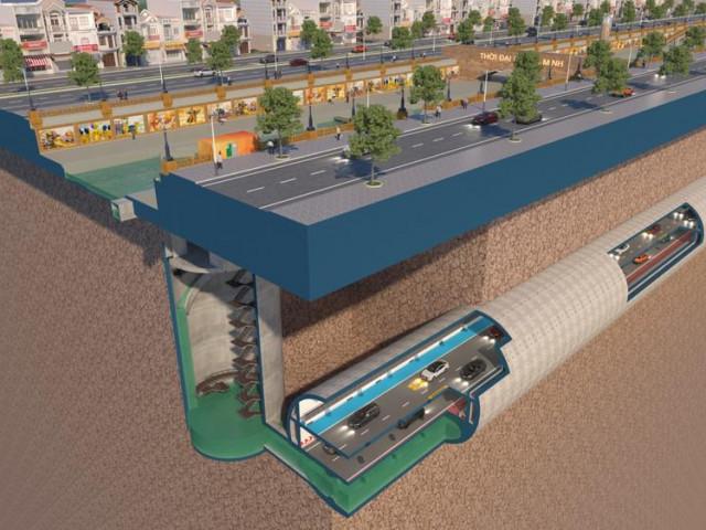 Đề xuất làm cao tốc ngầm dọc sông Tô Lịch có khả thi?
