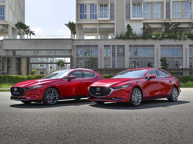 Giá xe Mazda3 lăn bánh tháng 2/2021