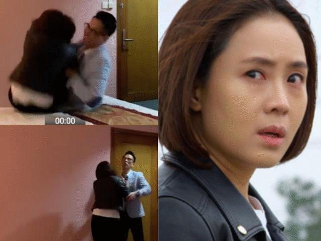 Vai nam cưỡng bức, quay clip nóng hãm hại Hồng Diễm trên sóng VTV3 gây tranh cãi